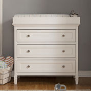 DaVinci Perse 3-Drawer Changer Dresser - White