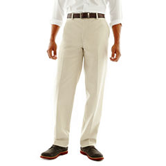 St. John's Bay® Worry Free Flat-Front Pants