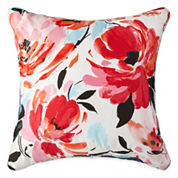 JCPenney Home™ Jenna Floral Square Decorative Pillow