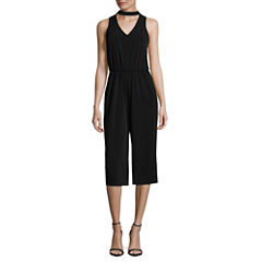 by&by Sleeveless Jumpsuit-Juniors