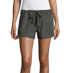 Union Bay Woven Pull-On Shorts-Juniors