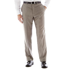 Dockers® Gray Sharkskin Flat-Front Suit Pants - Classic Fit