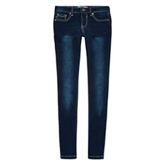 Vgold Embroidered Skinny Jeans - Girls 7-16