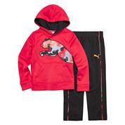 Puma® 2-pc. Cat Hoodie and Pants Set - Preschool Boys 4-7