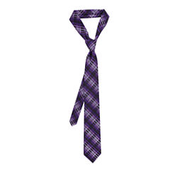 Van Heusen® Tie Right Tonal Plaid Tie