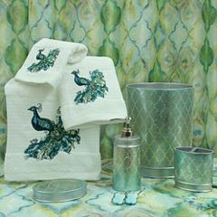 Bacova Guild Peacock Bath Collection