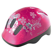Ventura Pink Flower Children's Helmet