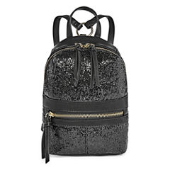 T-Shirt & Jeans Glittery Mini Backpack