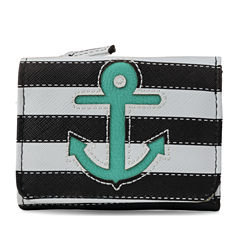 Mundi Anna Trifold Anchors Away RFID Blocking Wallet
