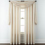 Liz Claiborne® Gallery Pleated Taffeta Window Treatments