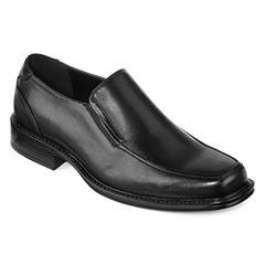 Stafford® Fez Mens Moc-Toe Dress Loafers