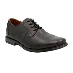Clarks® Holmby Cap Mens Leather Cap-Toe Oxford Shoes