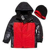 ZeroXposur® Snowboard Jacket and Beanie - Preschool Boys 4-7