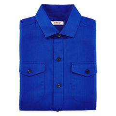 IZOD® Herringbone Dress Shirt - Boys 8-20