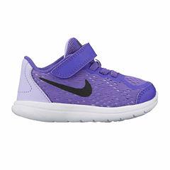 Nike Flex Run 2017 Girls Running Shoes - Toddler