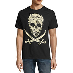 Short Sleeve Pirates of the Carribean Graphic T-Shirt