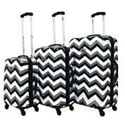 Chevron 3-pc. Hardside Luggage Set