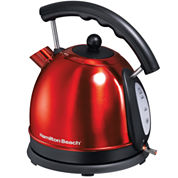 Hamilton Beach® 7.2-Cup Stainless Steel Dome Kettle