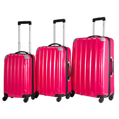 Chariot Travelware Vercelli 3-pc. Hardside Luggage Set