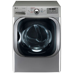 LG 9.0 cu.ft. Mega-Capacity Electric SteamDryer™ with SteamFresh™ Cycle
