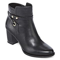 Liz Claiborne® Babin Heeled Ankle Booties