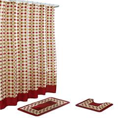 Christine 15-Pc  Shower Curtain Set