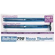 BaByliss PRO® Nano Titanium Wet To Dry Ultra Iron