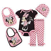 5-pc. Lil' Minnie Clothing Set - Baby Girls newborn-24m