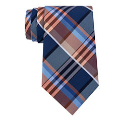 Stafford Lakeside Creek Plaid Tie