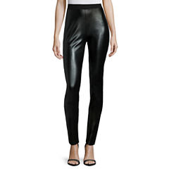i jeans by Buffalo Faux-Leather-Front Leggings