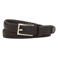 Mixit™  Flat Braided Leather Belt