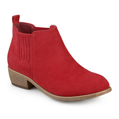 Journee Collection Ramsey Slip-On Booties