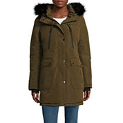 a.n.a® Military Faux-Fur-Trim Parka