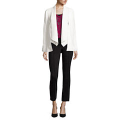 nicole by Nicole Miller® Cape Jacket, Burnout Top or Ankle Pants