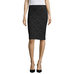 Liz Claiborne® Animal Knit Skirt