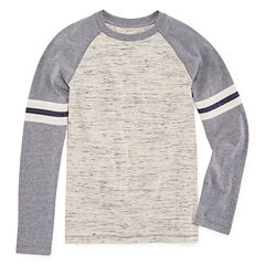 Arizona Long Sleeve Raglan Football Tee Boys 8-20 and Husky
