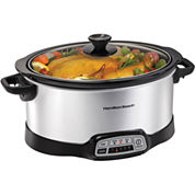 Hamilton Beach® 7-qt. Programmable Oval Slow Cooker