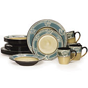 Pfaltzgraff® Montego Coastal 16-pc. Dinnerware Set