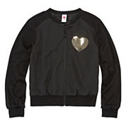 Total Girl® Bomber Jacket - Girls 7-16 and Plus