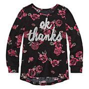 Arizona Long-Sleeve Knit Sweater - Preschool Girls 4-6x
