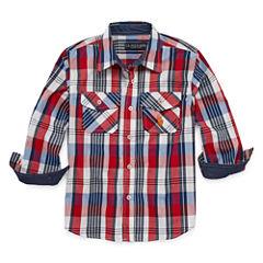 U.S. Polo Assn.® Long-Sleeve Woven Shirt - Preschool Boys 4-7