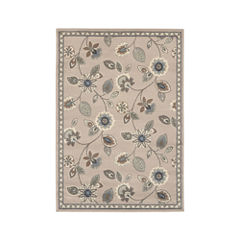 Covington Home Victoria Floral Rectangular Rug