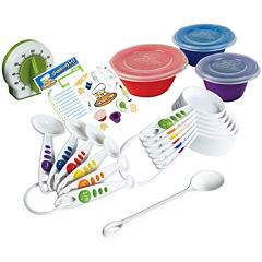 Curious Chef® 17-pc. Measure and Prep Kit