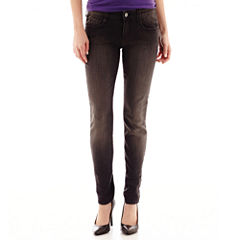 Arizona Ankle-Zip Jeggings