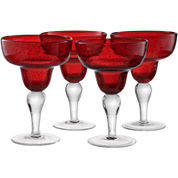 Artland Iris Set of 4 Margarita Glasses