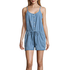 Us Polo Assn. Sleeveless Romper-Juniors