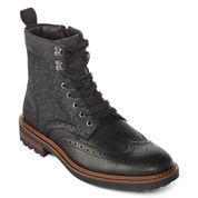 Collection by Michael Strahan Horatio Mens Lace-Up Dress Boots