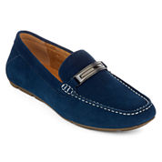 Collection by Michael Strahan Phoenix Mens Leather Dress Loafers