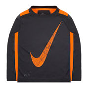 Nike® Dri-FIT Long-Sleeve Legacy Top - Toddler Boys 2t-4t