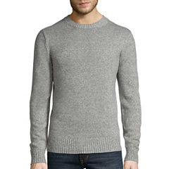 St. John's Bay® Long-Sleeve Classic-Fit Crewneck Sweater